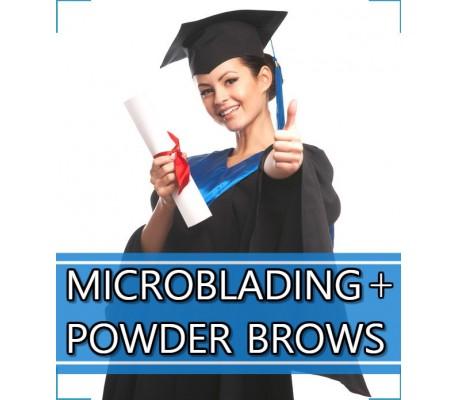 Microblading + Powder Brows - Szkolenie pakietowe