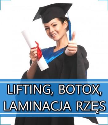 Lifting, Botox, Laminacja Rzęs