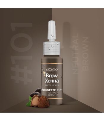BrowXenna Natural Brown nr 101