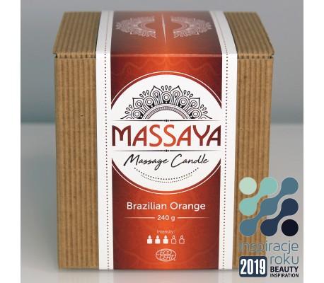 MASSAYA Massage Candle - Ekologiczne Świece do Masażu